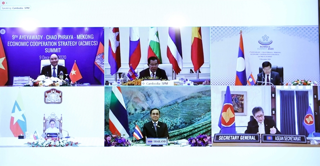 Phnom Penh declaration adopted at 9th ACMECS Summit