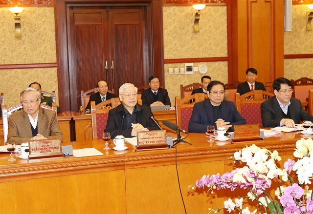 Top leader chairs meeting of Party Central Committees Secretariat