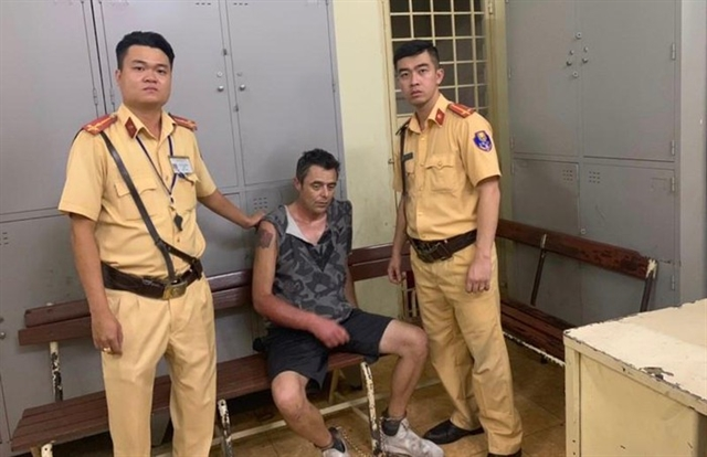 British man arrested for armed robbery in HCM City