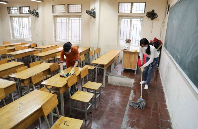 Localities allowed to reopen schools if hygienic measures taken: health ministry