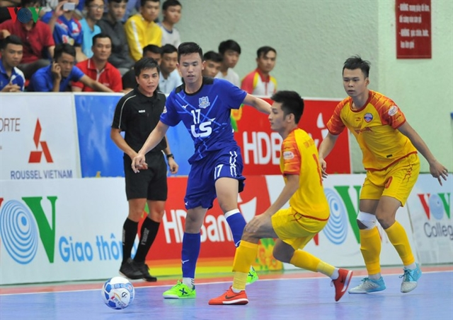 Foreign futsal players to compete in Việt Nam