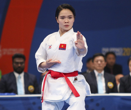 Karate star Phương to compete at Dubai Karate 1 Premier League
