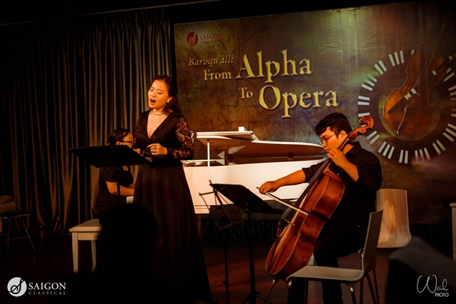 Concert Beautiful Baroque at Salon Saigon