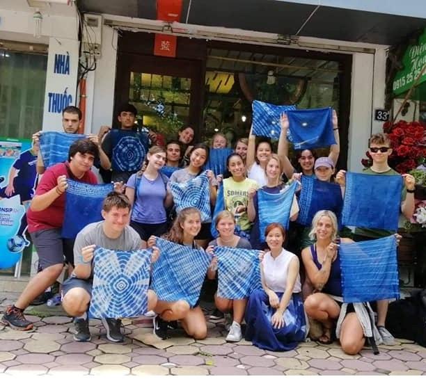 DIY indigo dyeing workshop