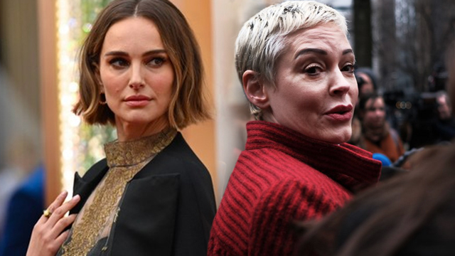 Actress Rose McGowan blasts Natalie Portman Oscars cape