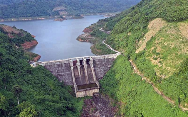 Central hydropower plants reservoirs lack water
