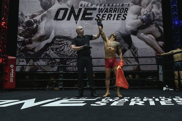 MMA fighter Trần Quang Lộc has ONE goal