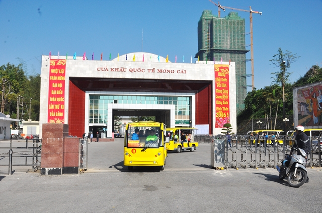 Móng Cái border gate ready to resume customs clearance