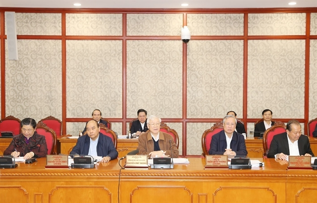 Politburo gives opinions on 13th National Party Congresss documents