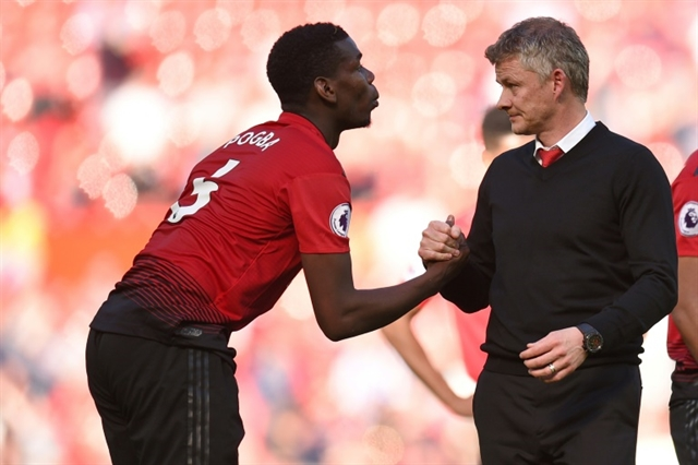 Pogba belongs to Man Utd not Mino insists Solskjaer