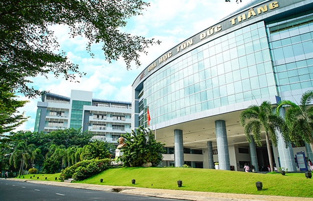 Tôn Đức Thắng University listed in top 10 ASEAN research universities