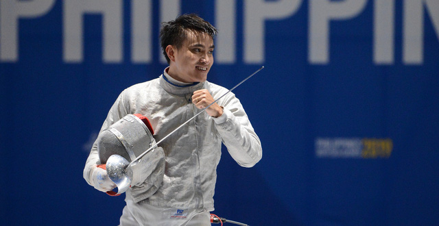 Fencer An hunts Olympic points at World Cup in Poland