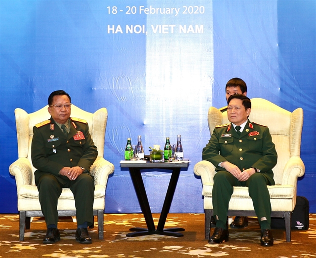 ASEAN 2020: Defence ministers of Việt Nam Laos Australia meet in Hà Nội
