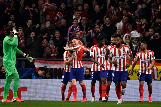 Gutsy Atletico given hope after surprise win over Liverpool