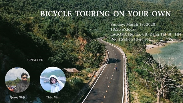 Learn how to bicycle tour