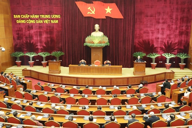 Politburo meets with former senior leaders of Party State