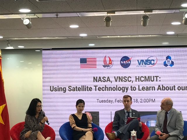 US Việt Nam in tie up for satellite observation