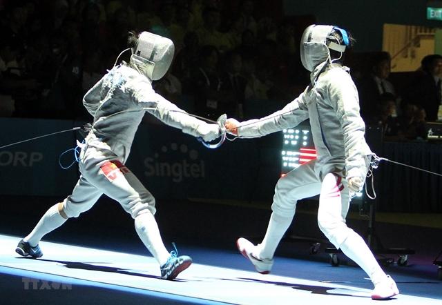 Fencer Vũ Thành An seeks second Olympics spot