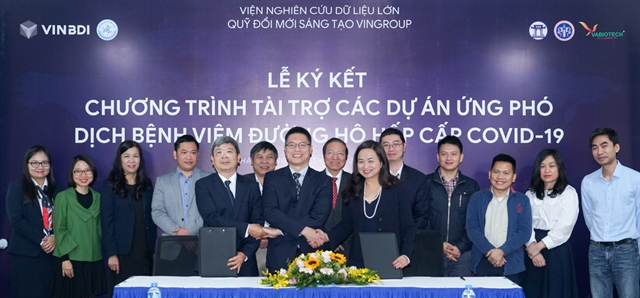 Vingroup pledges US861000 for coronavirus research in Việt Nam
