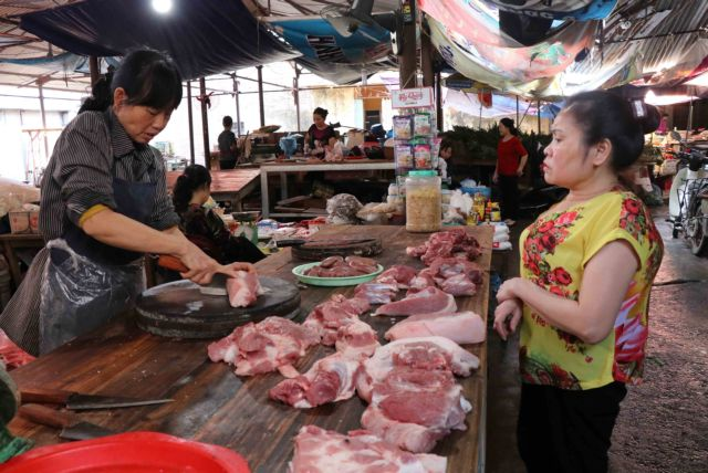 Pork market suffers from African swine fever