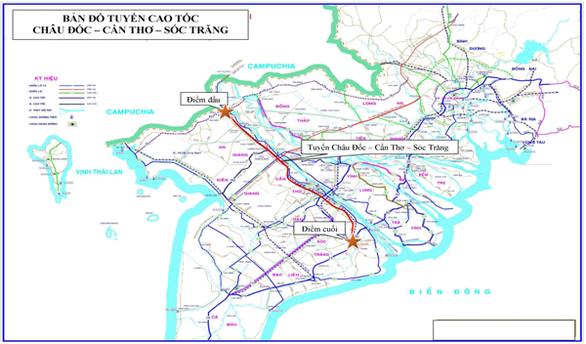 Two new expressways to be built in Cửu Long Delta