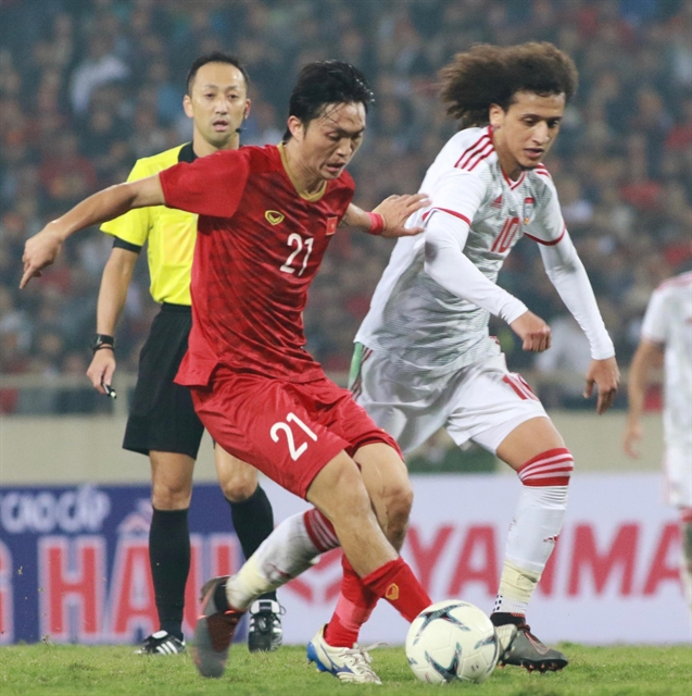 Midfielder Anh ready for V.League 1 and national team matches