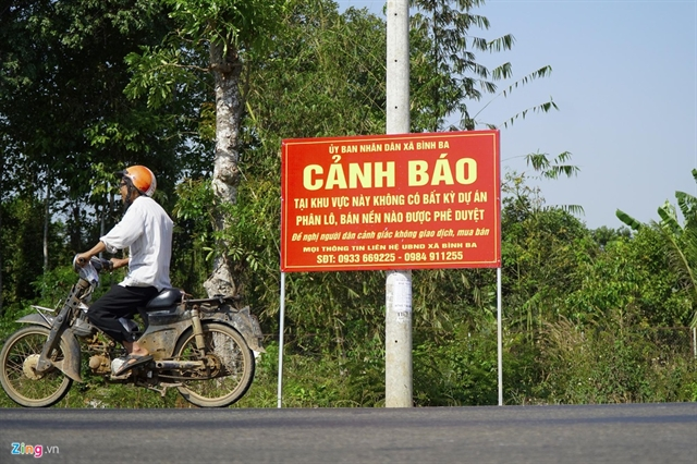 Bà Rịa-Vũng Tàu authorities step in warn against land price bubble due to Vincom rumour