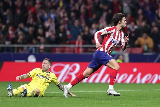 Felix back with a bang as Atletico brush aside Villarreal