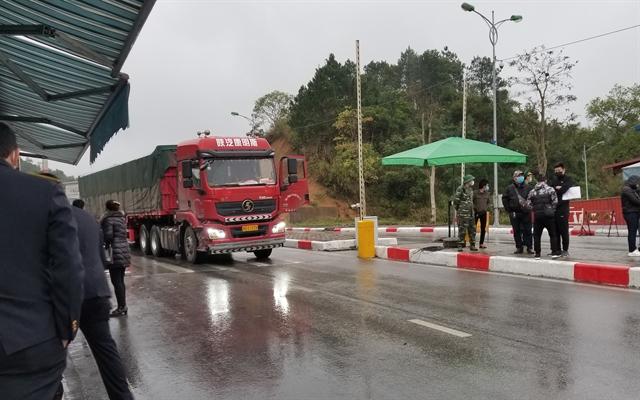 Export activities at border gates still slow: Ministry