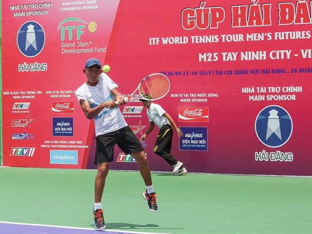 Phương advances at M15 Sharm El Sheikh tennis tournament