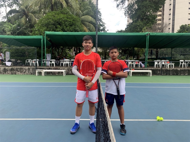 Việt Nam win first matches at Junior Davis Cup and Junior Fed Cup qualification