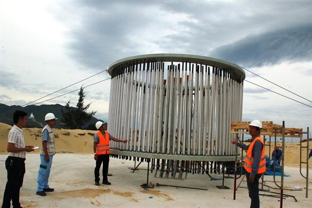 Bình Định green lights two wind power plants