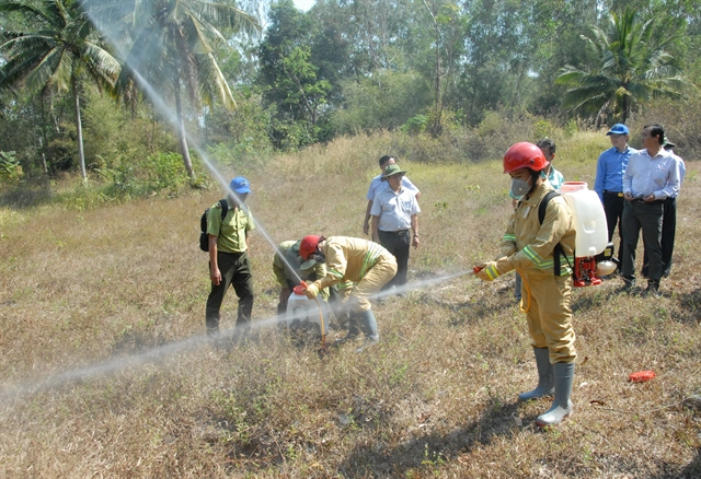 Early forest fire warnings vital