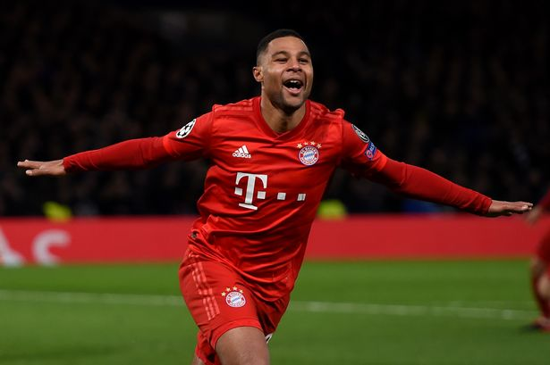 Gnabry stars as Bayern rock Chelsea