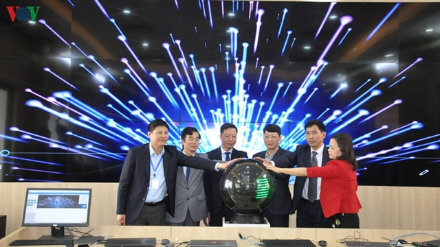 Móng Cái launches smart city operation centre