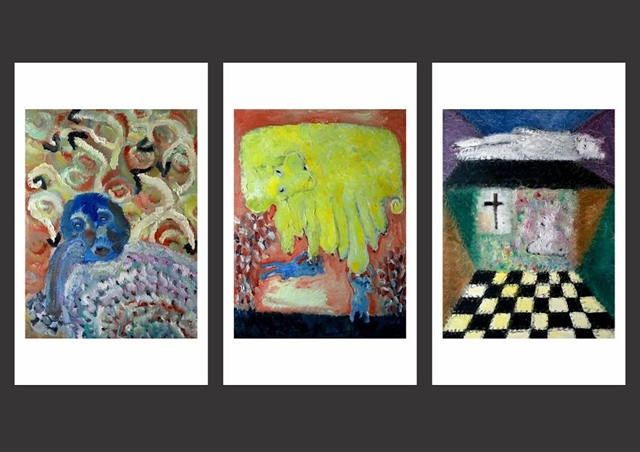 Paintings featuring angles of life through tarot cards to go on show