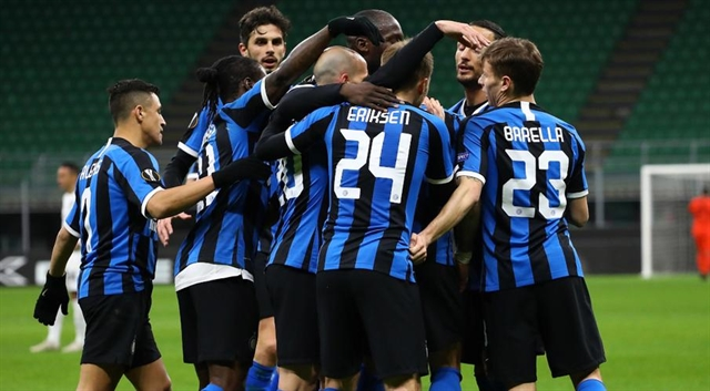 Inter advance in Europe behind surreal closed doors due to coronavirus