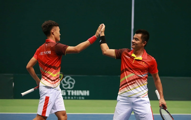 Việt Nam to compete in Davis Cup Playoffs