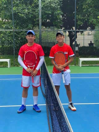Vinh helps Việt Nam win at Junior Davis Cup pre-qualifier
