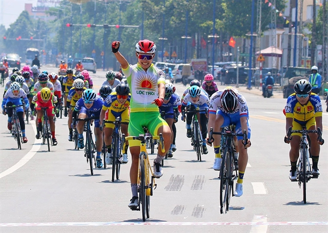 Thật wins first stage of Biwase Cycling Cup