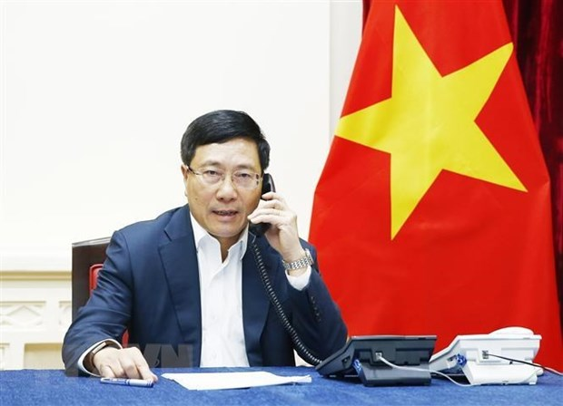 Deputy PM FM has phone call with RoK minister on Covid-19