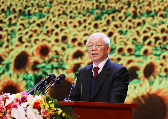 Communist Party leads the nation: top leader