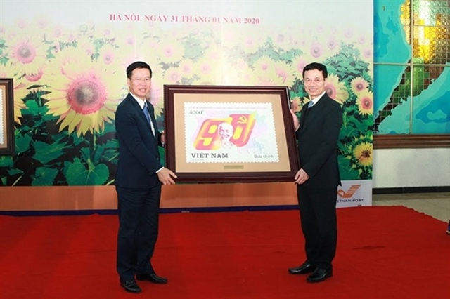 Stamp launched to celebrate Partys 90th anniversary