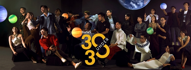 Forbes 30 under 30 list announced