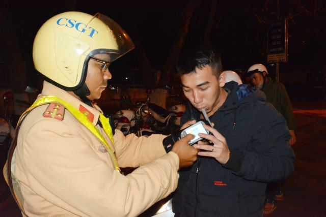 More than 17300 drunkdrivers fined in a month