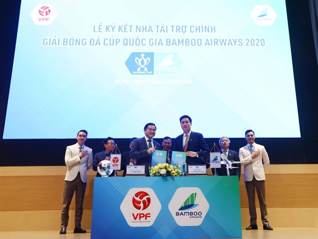 Bamboo Airways sponsors National Cup supports teams travelling