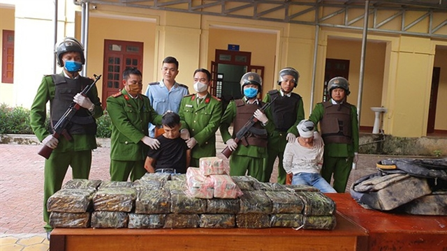 Police seize 45kg of meth in Hà Tĩnh