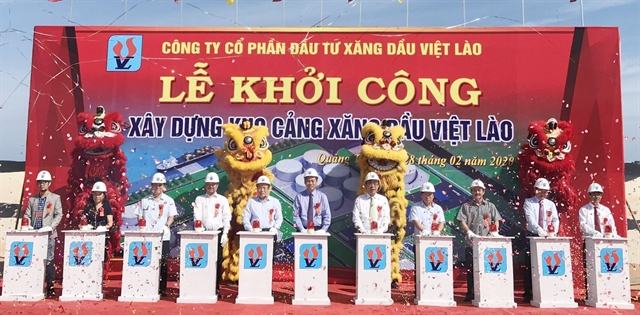 Work starts on 20m petrol warehouse in Quảng Trị