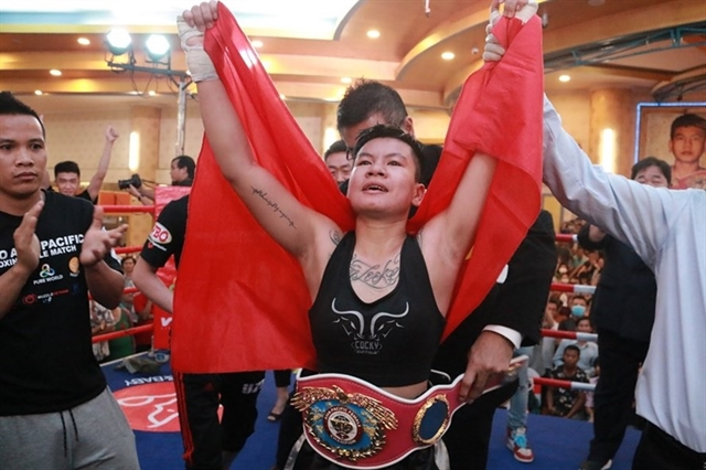 Nhi crowned WBO Asia Pacific champion