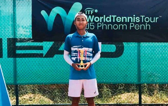 Đức finishes second at ITF U18 event in Cambodia